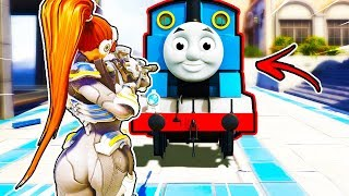 *NEW* Thomas the Train in Overwatch! - Best Plays & Funny Moments #190