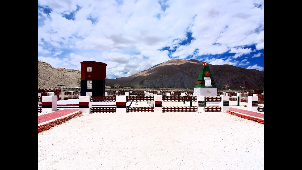 Chushul, Ladakh, the 1962 India-China War Memorial.