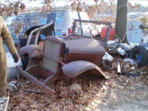 3 old junkyards salvage yards combined junk yard - YouTube