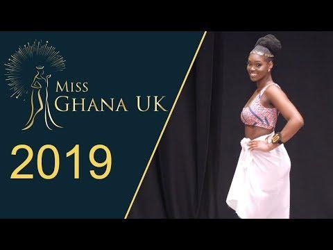 Miss Ghana UK 2019 - Contestants in Swimwear