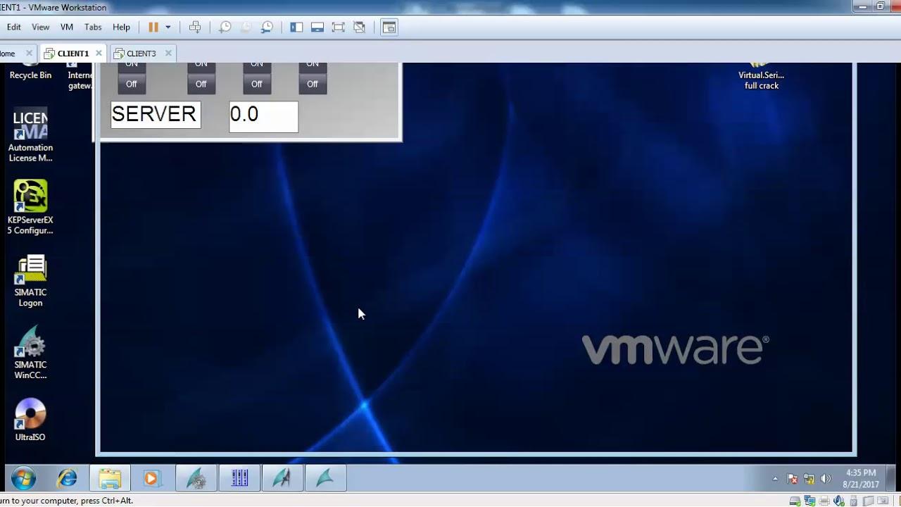 Kepware OPC DA client exchange data with WINCC OPC DA Between 2 PCs