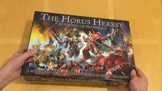 Horus Heresy   Burning Of Prospero: Out Of Pack Review (games Workshop)