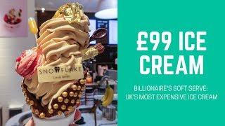 £99 ICE CREAM CONE | SNOWFLAKE GELATO