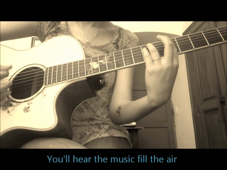 Lucky Jason Mraz Colbie Caillat Acoustic Guitar Cover With