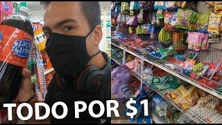 Qué hay en un supermercado de TODO POR $1 DOLAR?