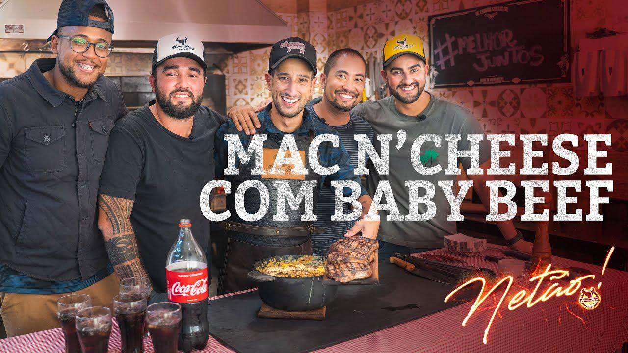 Mac n'Cheese com Baby Beef   Netão! Bom Beef #52