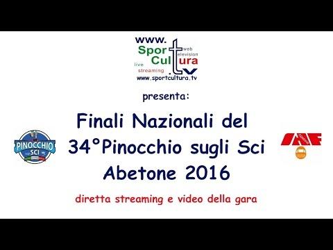 34° Pinocchio sugli Sci 2016 Finale Nazionale Baby 2 #sci  live sport