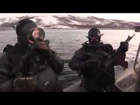 Учение по обороне главной базы подводных сил СФ от атаки диверсантов