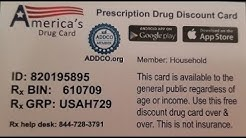 How much will my prescription cost without insurance | us rx card