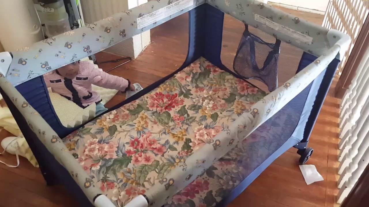 diy easy playpen memory foam mattress