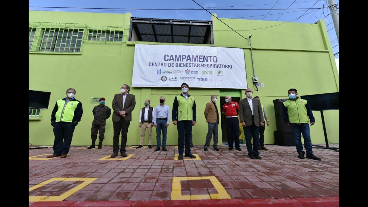 #InformeNacional | Este día se inauguró el primer Centro de Bienestar Respiratorio en la zona 18.