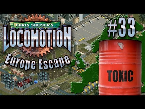 Chris Sawyer's Locomotion: Europe Escape - Ep. 33: SHIPPING CHEMICALS