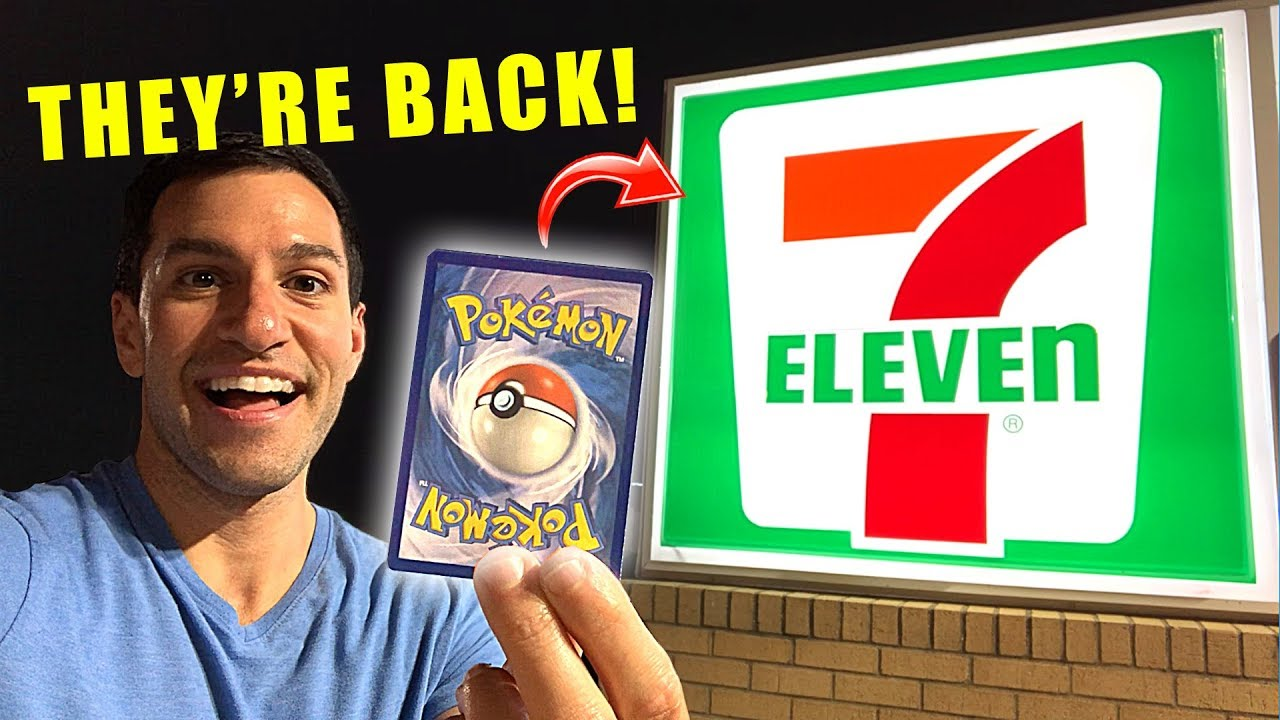 7 Eleven Has Pokemon Cards Again Opening New Detective Pikachu