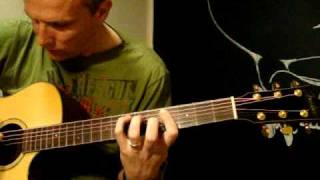 How to play/COVER Hoppipolla by Sigur Ros on guitar