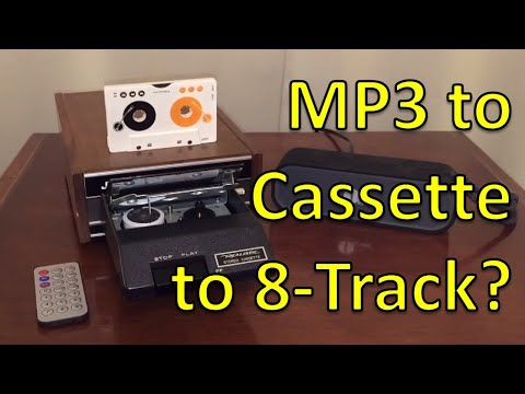 8-Track Inception: Playing Mp3 Files on a Tape Recorder