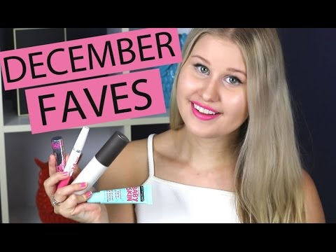 DECEMBER BEAUTY FAVOURITES 2015 ♥ JORDY CANNON