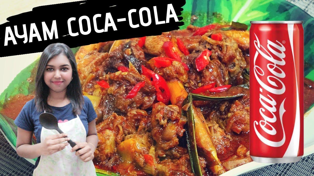 RESEPI AYAM MASAK COCA COLA - MASAK AYAM COCA COLA | COOK CHICKEN COCA COLA RECIPE (4K) ??