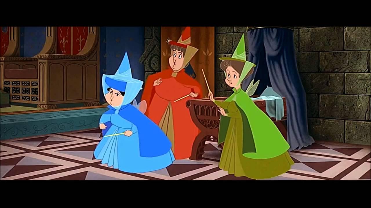 Sleeping Beauty 1959 Scene Maleficent S Curse