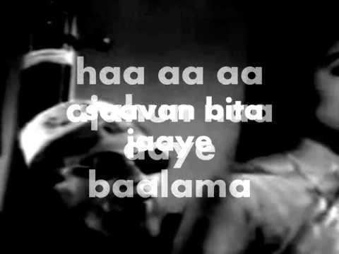 Ajhun Aaye Balma-Karaoke & Lyrics-Sanjh Aur Savera