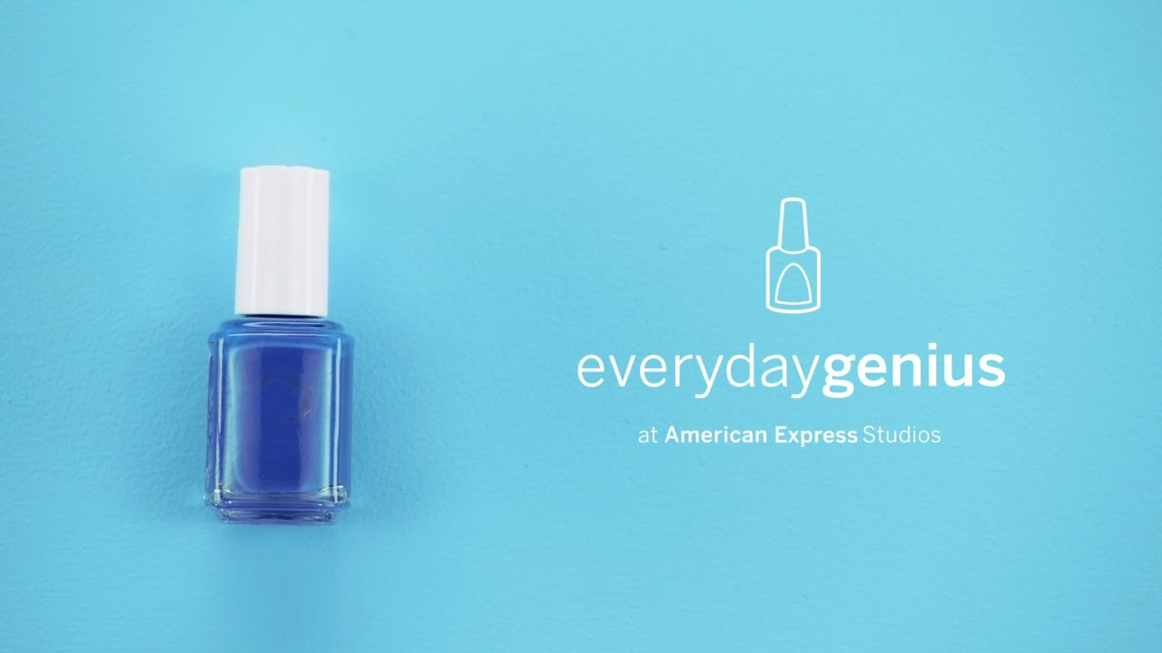 How to Quickly Dry Nail Polish | Everyday Genius with Kari Byron ...