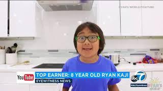 8-year-old Ryan Kaji creator of Ryan's World earned $26 million this year alone | ABC7