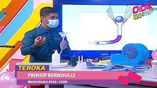 Teroka (2021) | Menengah Atas: Fizik – Prinsip Bernoulli