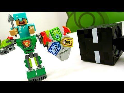 Секреты игры Майнкрафт - Стив делает Лего Робота!