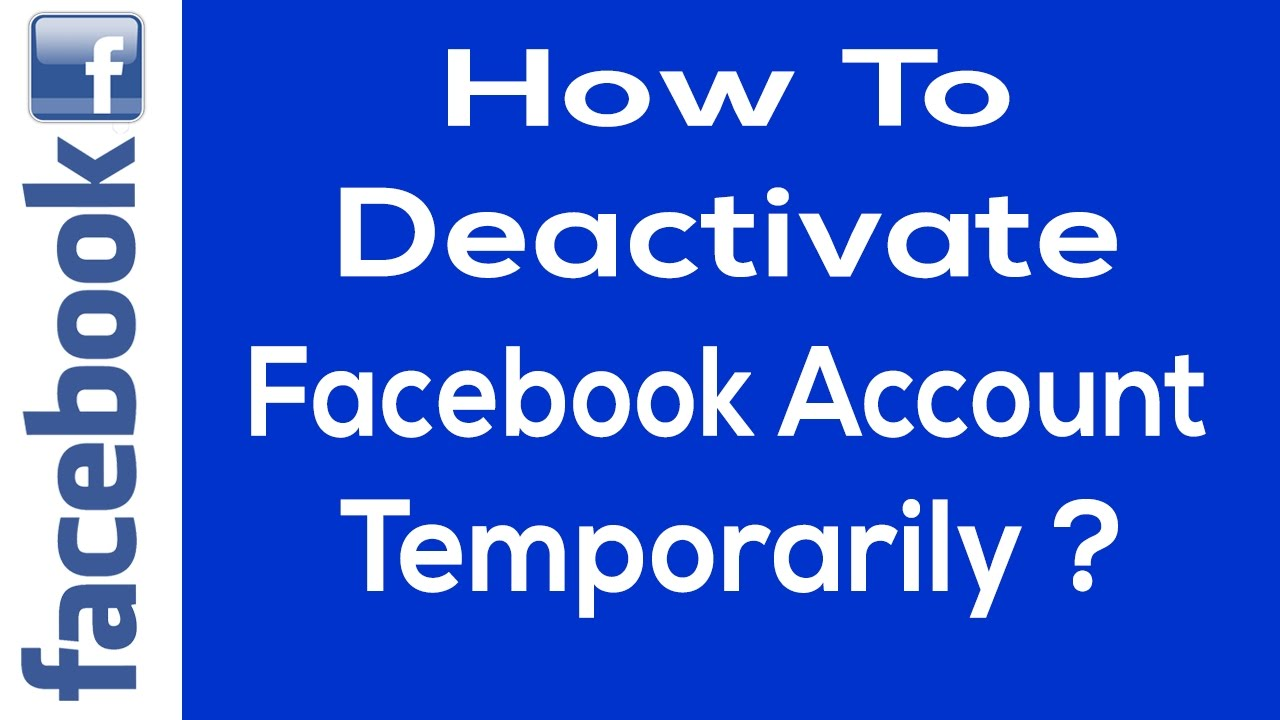 Image result wey dey for How to Deactivate Facebook Account Temporarily?