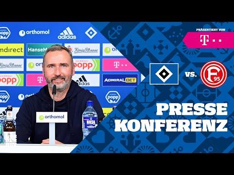 PRESSEKONFERENZ LIVE I 10. Spieltag I HSV vs. Fortuna Düssel