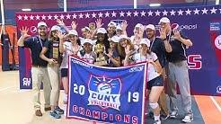 2019 CUNYAC Women's Community College Volleyball Finals: Queensborough vs. BMCC