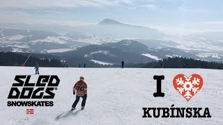 Skiareál Kubínska Hoľa na Sled Dogs