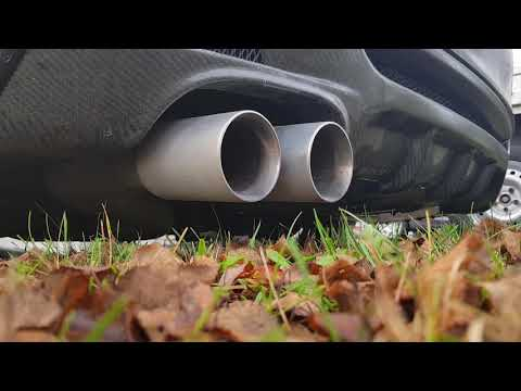 BMW 123d Milltek Exhaust Cold Start