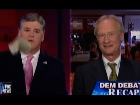 Sean Hannity Complains To Lincoln Chafee About Taxes