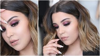 DRUGSTORE FALL MAKEUP TUTORIAL USING ONLY MAYBELLINE PRODUCTS! | MakeupByAmarie