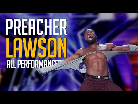 Best Comedian EVER! Preacher Lawson All Performances on America's Got Talent + Champions