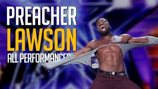 Best Comedian EVER! Preacher Lawson All Performances On America's Got Talent Champions