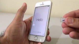 Como ativar o iPhone e Configurações Iniciais