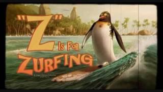 """""""Лови волну!"""" Коди рассказывает о Большом Зи. Момент из мультфильма/Surf's Up"""