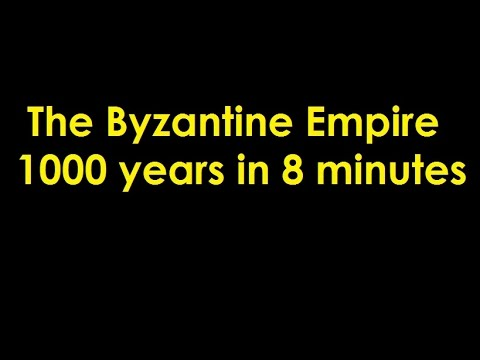 The Byzantine Empire in 8 Minutes