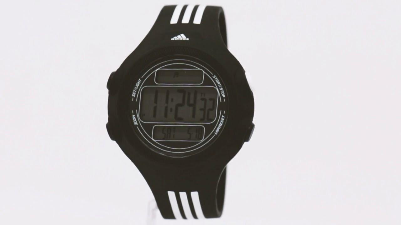 909f1b4bc24 Relógio Adidas Masculino Performance ADP6081 8PN - Eclock - YouTube