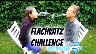 Flachwitz Challenge mit Wasser | 2015