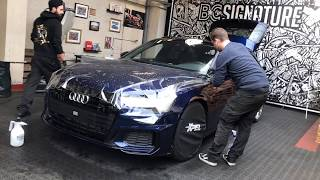 AUDI A6 S LINE   XPEL Paint Protection wrap + XPEL Fusion Plus Coating