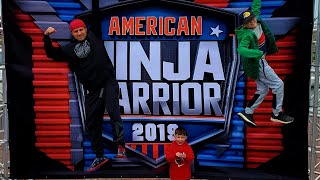 Ninja Dad American Ninja Warrior Submission Season 12