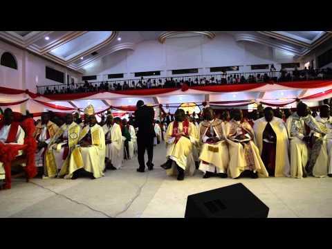 Choir at the Consecration/Installation of Bishop Solomon Massangwa.