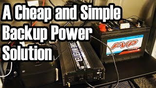 TC Projects: Lead-Acid Battery Backup