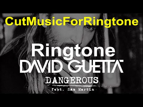 Ringtone - Dangerous (Steve Aoki Remix) - David Guetta CUT