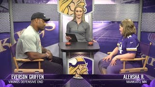 'Are You Smarter Than A Player' with Everson Griffen