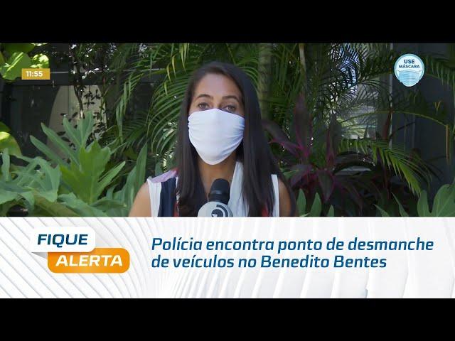 Polícia encontra ponto de desmanche de veículos no Benedito Bentes