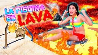 EL AGUA ES LAVA 🔥🌊 Final Épico | Leyla Star 💫