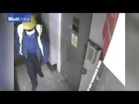 CCTV show oblivious passers-by during Hatton Garden heist